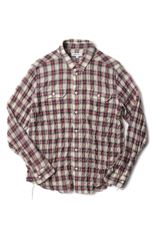 ordinary fits : Wool Work Shirt (Red)