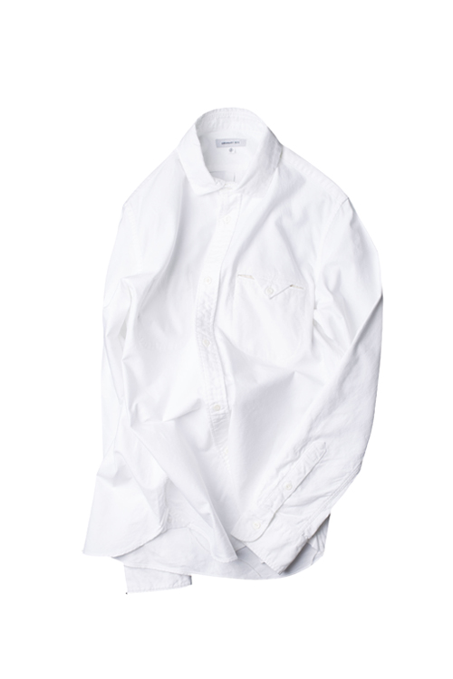 Ordinary fits : Invisible B.D Shirt (White)