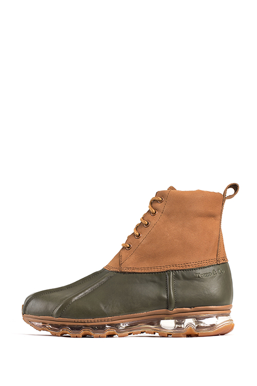 Tomo&Co. x name : Bean Boots (Khaki)