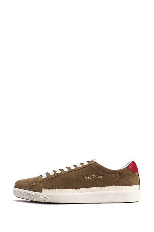 Pantofola d'Oro : Top Spin Suede Lo (Brown)