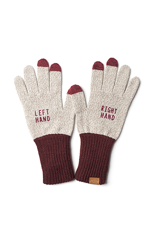 Infielder Design : Right Left Gloves (Wine)