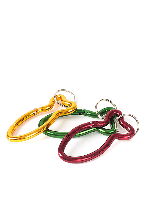 Bison Designs : Fish Carabiner (3col)