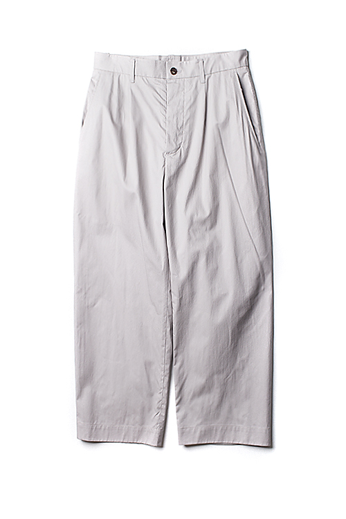hanyounghuun : Side-seamless ankle length pants (L.Grey)