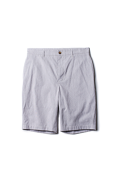 hanyounghuun : Bermuda shorts with speacial back pocket (Grey)