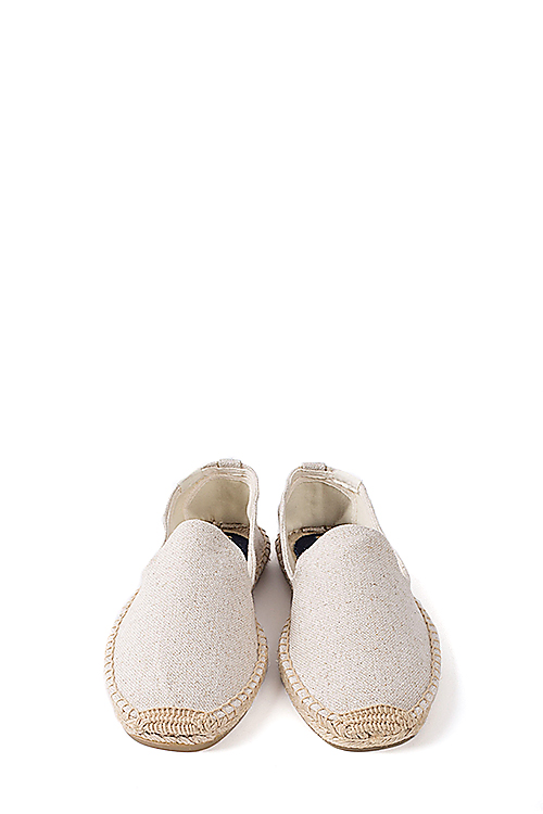 Soludos : Smoking Slipper (Cotton Sand)