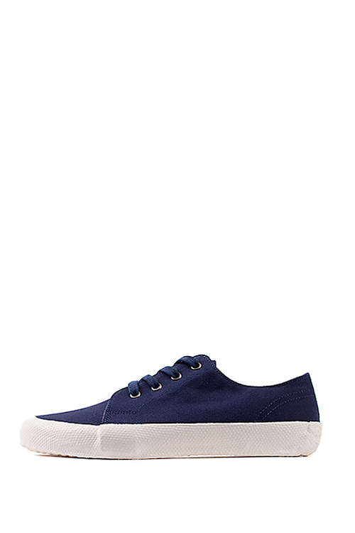 YMC : Lace Up Trainer (Navy)