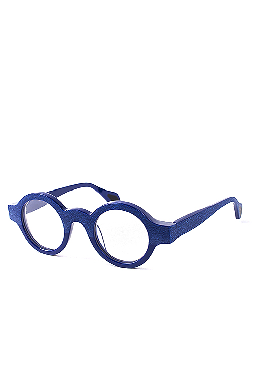 theo : Mille+11 023 Solid Blue (Wooden / Shine)