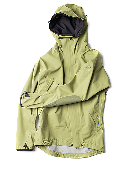 KLATTERMUSEN : Allgron Jacket (Blue Green)