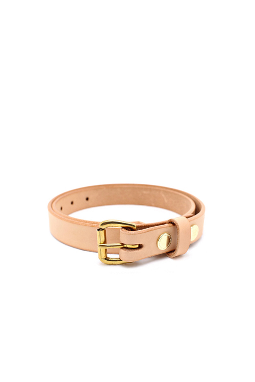 Tanner Goods : Skinny Belt (Natural)