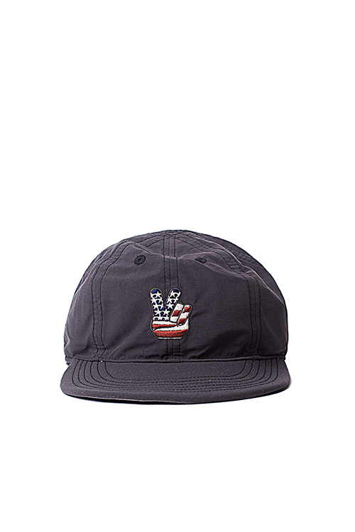 Infielder Design : Camp Cap_Peace (Black)