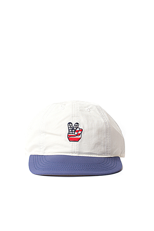 Infielder Design : Camp Cap_Peace (Wh x Nv)