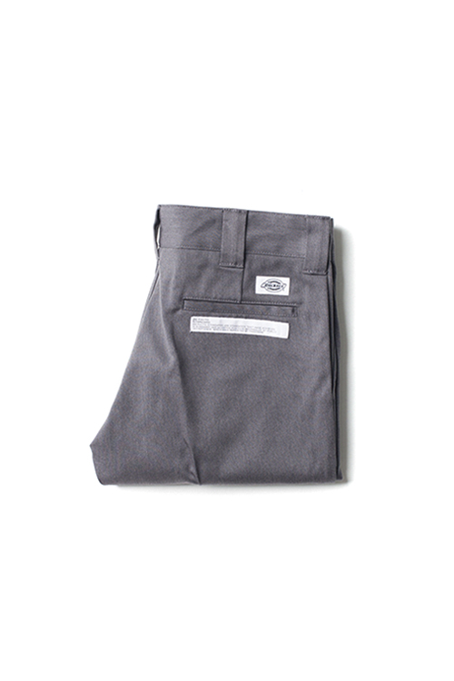 Bedwin & Heartbreakers : 9/L Dickies TC Pants 'Jessee' Grey
