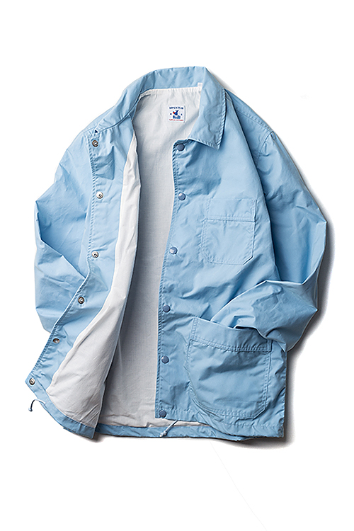 Arpenteur : Stade Coach Jacket (Light Blue Sail Gabardine)
