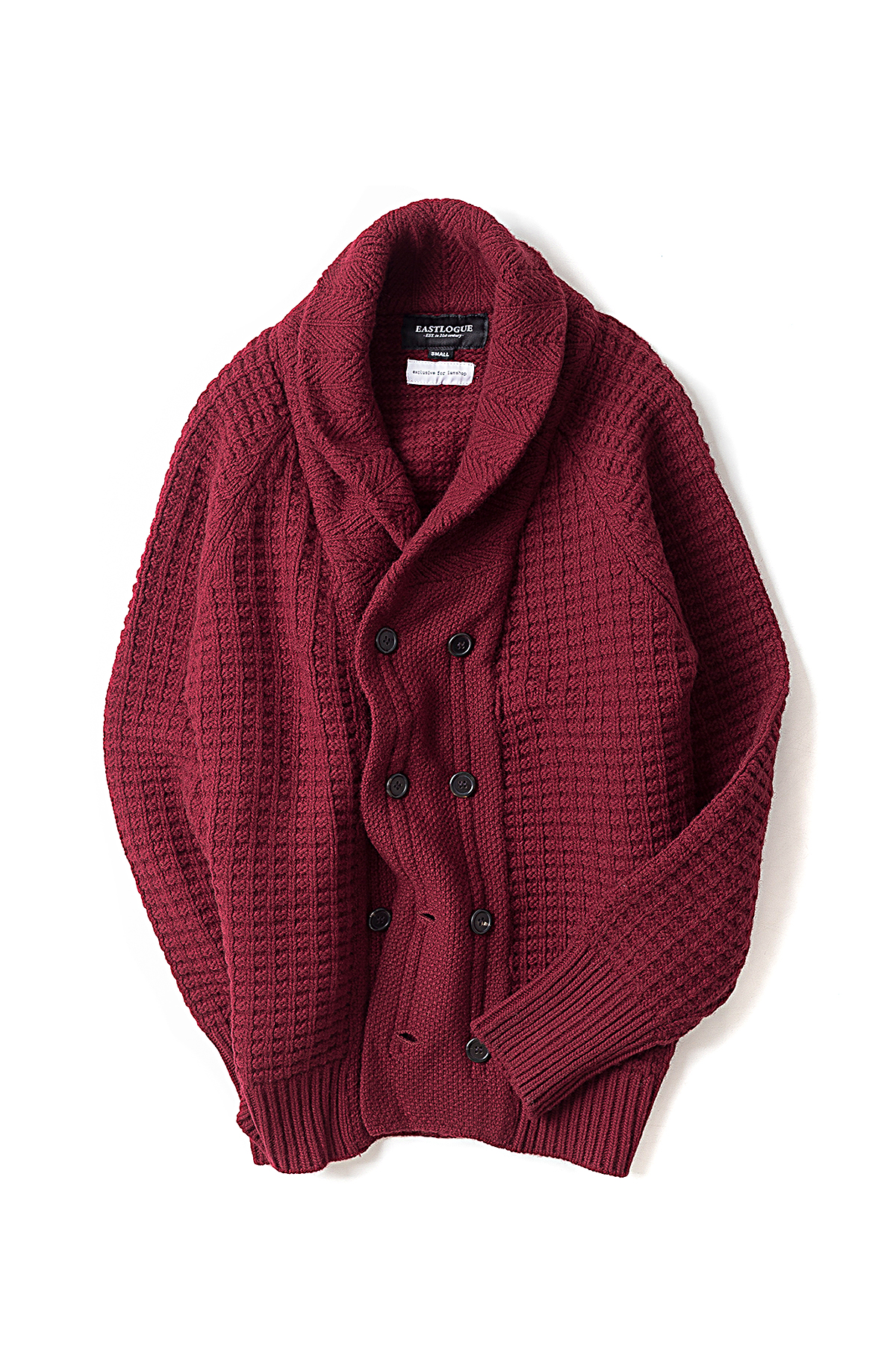 I AM SHOP X EL : Aran Jumper (Maroon)