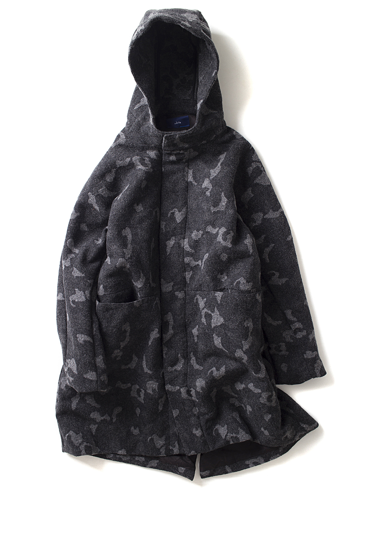 ordinary fits #WHITE : Camo Field Parka (Black)