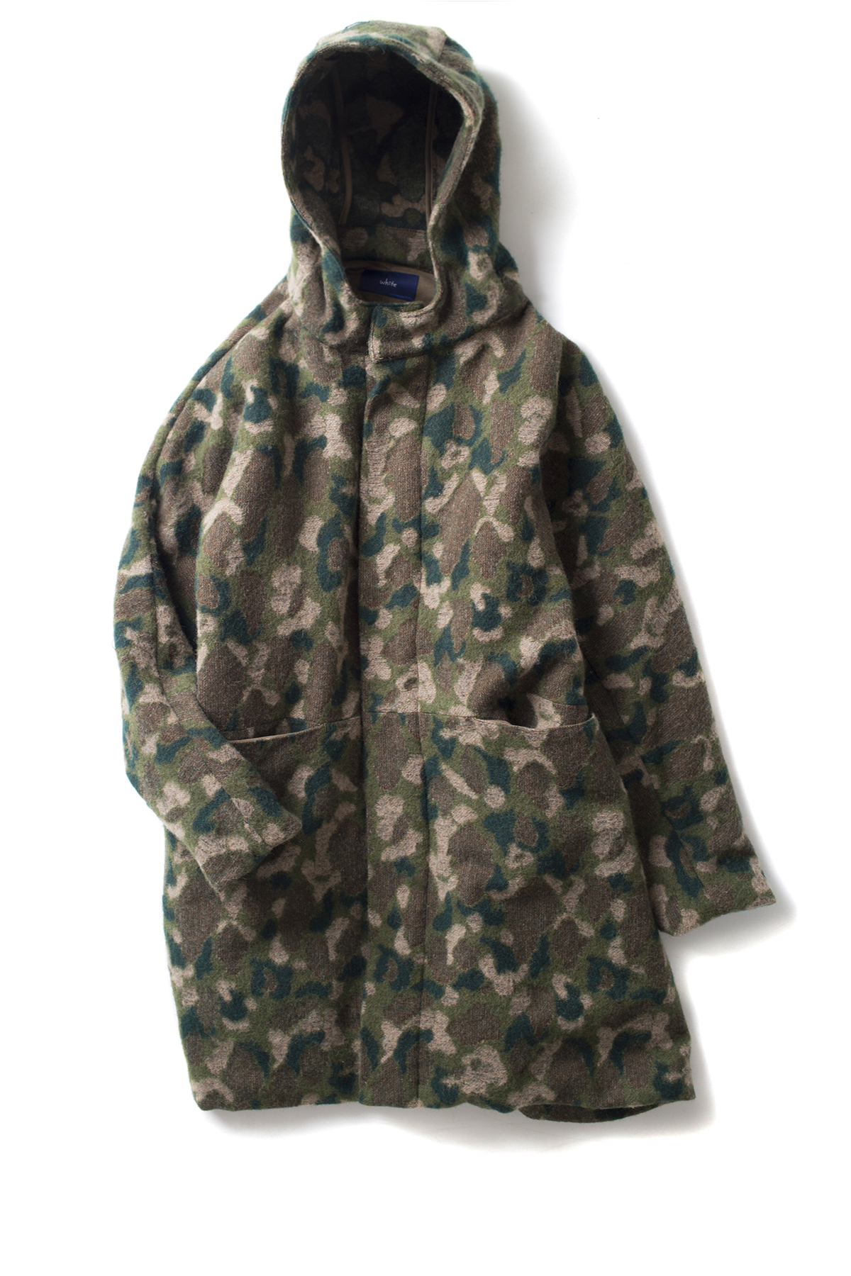 ordinary fits #WHITE : Camo Field Parka (Olive)