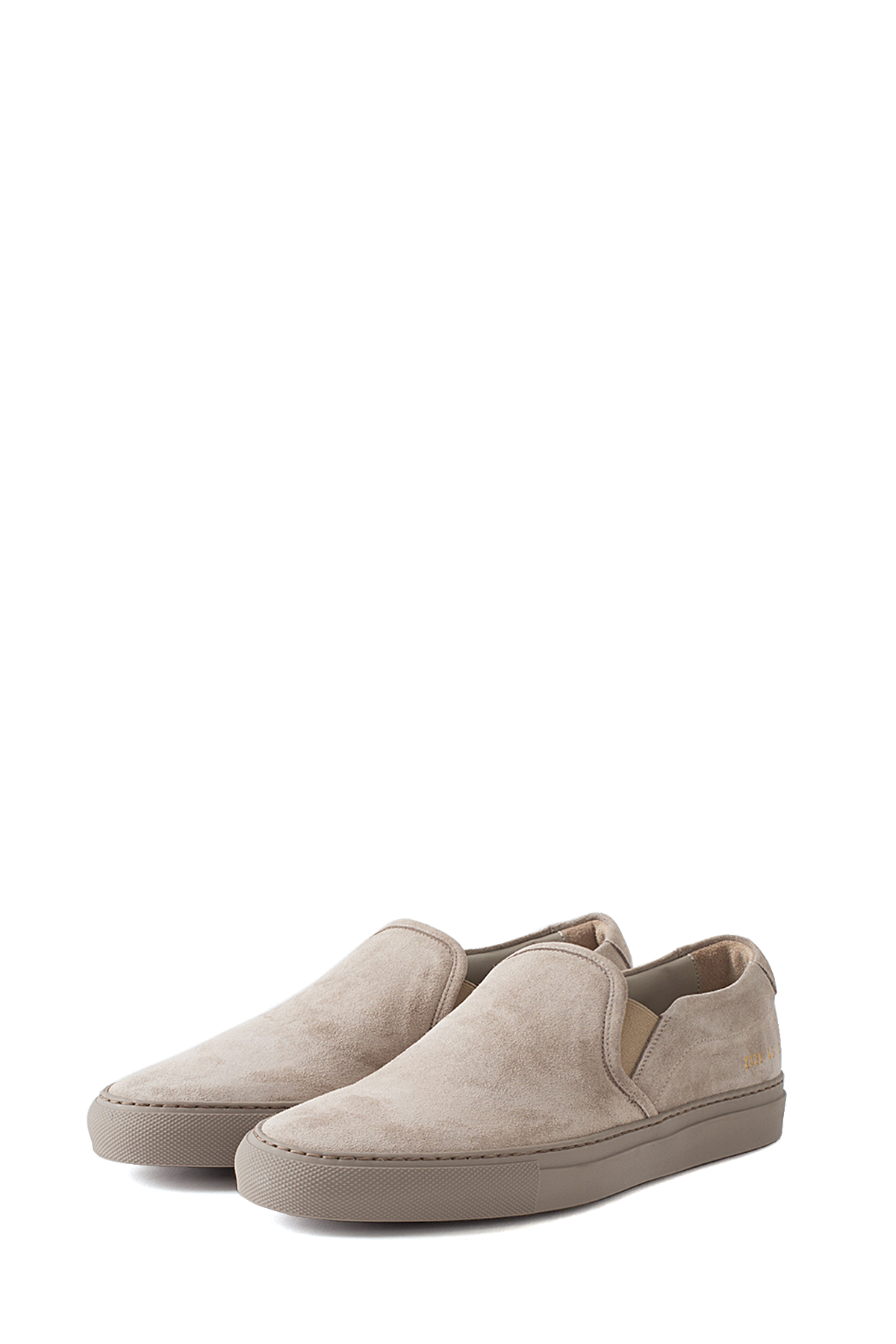 Common Projects : Slip On in Suede (Sand)