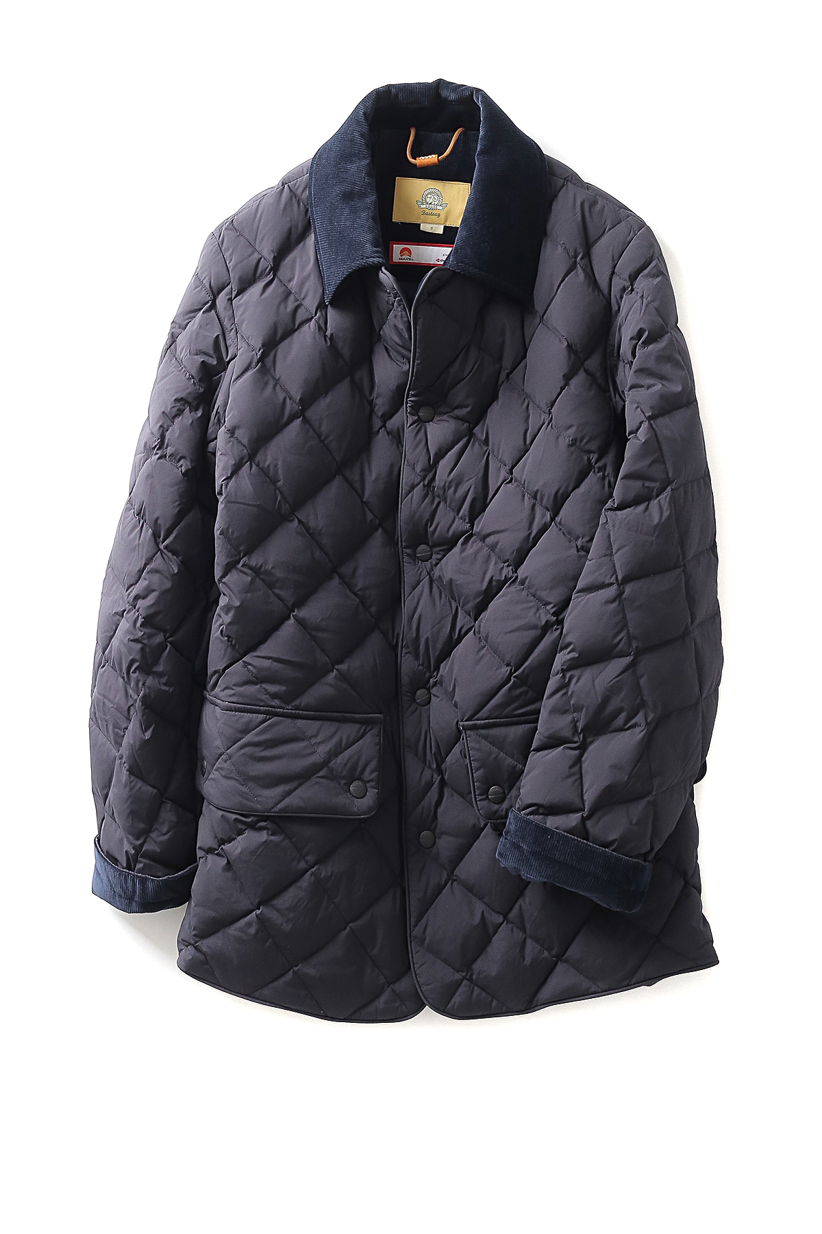 Bastong : 108 Quilting Jacket (Navy)